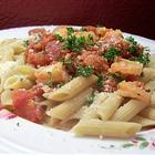 Penne With Shrimp (Serves Two)