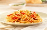 Barilla Whole Grain Linguine with Roasted Peppers