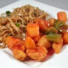 Sweet and Sour Chicken (Serves Four)