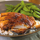 Ginger Glazed Mahi Mahi (Serves Four)