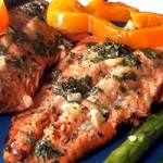 Marinated Wild Salmon (Serves Four)