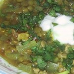 Turkey-Lentil Chili (Serves Twelve)